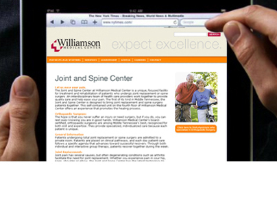 Williamson Medical Center - Website Development