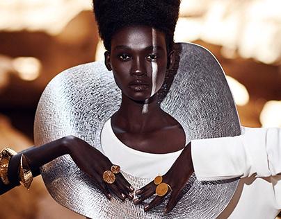 Web Design, Web Page of Fashion Brand