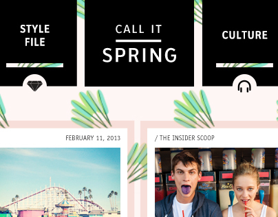 Call It Spring • Wordpress Blog