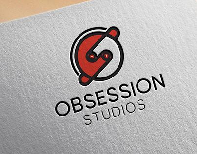 Music Video Production Obsession Studio Logo Design