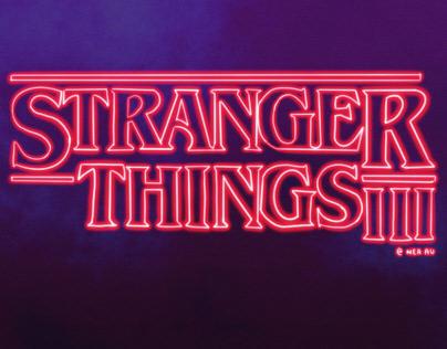 Stranger Things l Poster