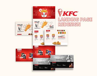 UI/UX Design - KFC Landing Page