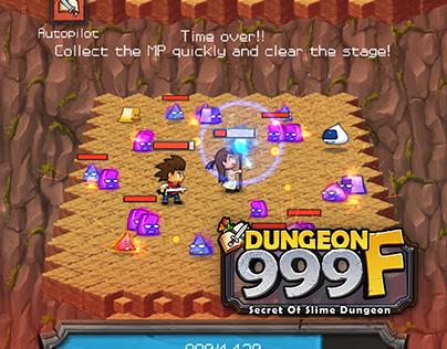 Dungeon999F - Development logs