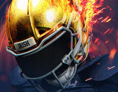 OVERLOAD - Notre Dame Football Creative Range 2018-19.