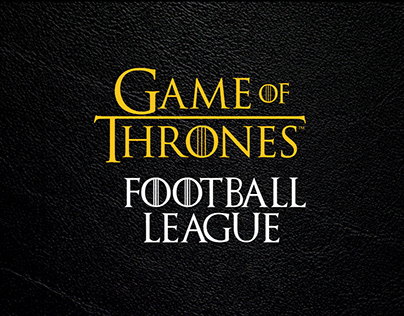 Game of Thrones - Football League - Nike Concept
