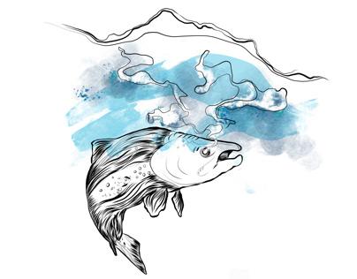 L'esprit saumon