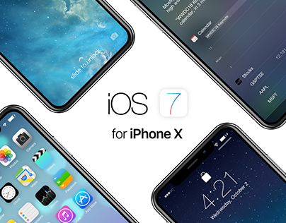 iOS 7 for iPhone X