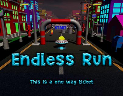 Endless Run 3D Game (Unity 3D)