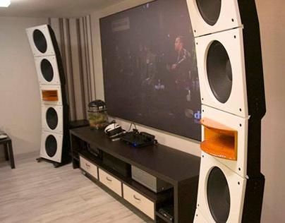Open baffle speaker design