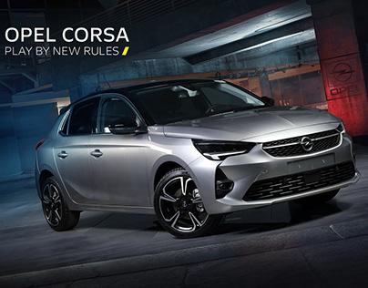 Opel Corsa Photo shoot