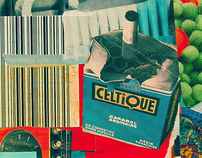 Consumers // Analog collage