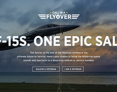 USAA Flyover Experience