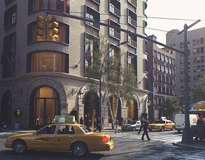 920 Jefferson New York - Architectural Visualization