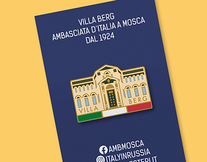 A souvenir pack design for the Embassy of Italy