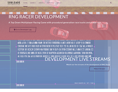 Web Design - Soulcade Interactive