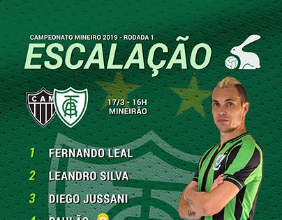 América Futebol Clube - Graphic Line 2019