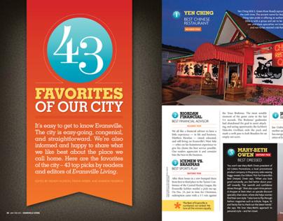 Best of Evansville 2012 Feature Design
