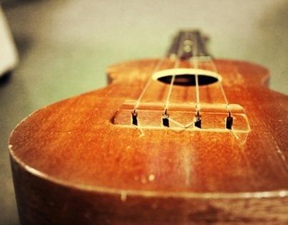 Guitars, a Uke and a Mandolin