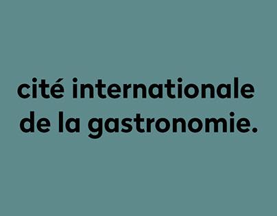 Cité Internationale de la Gastronomie