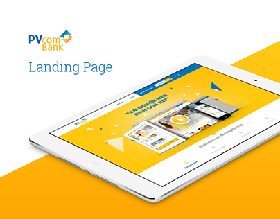 PVcomBank Landing Page