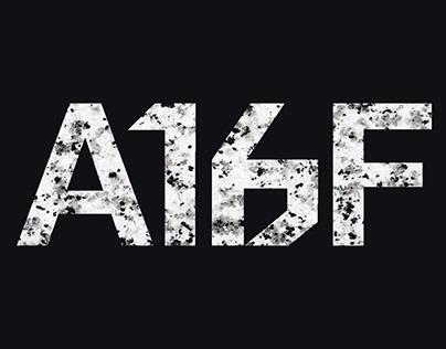 A16F - Visual identity