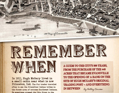 """Evansville City View 2012 Feature — """"Remember When"""""""
