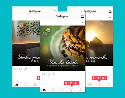 Pousada Del Mares - Postagens para Instagram [Janeiro]