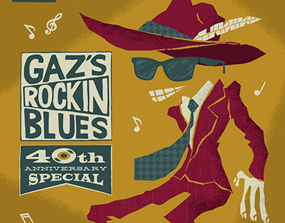 Gaz Rockin' Blues