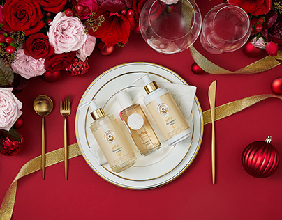 Roger & Gallet - Christmas visuals