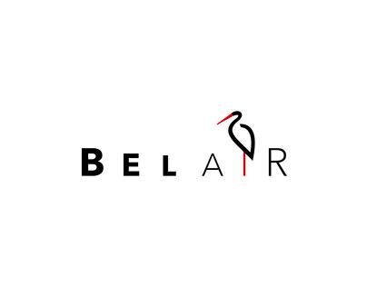 BELAIR logo concept