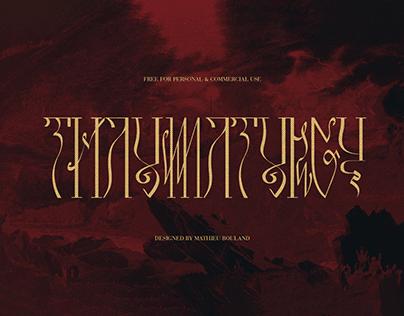 THAUMATURGY - Free Font