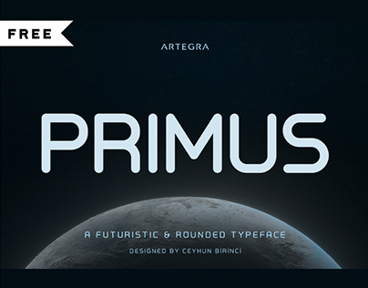 FREE   Primus typeface