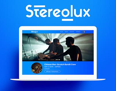 Stereolux / UI Design