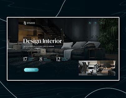 25 Studio - Interior design Landing Page