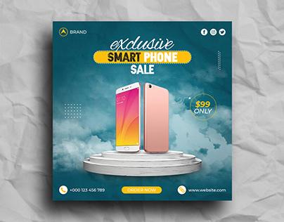 Smart Phone Sale Social Media Post Template