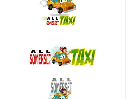 Diseño de mascota Taxi