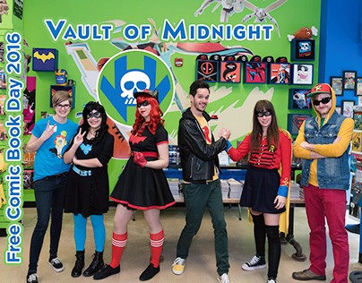 Free Comic Book Day 2016 - Vault of Midnight