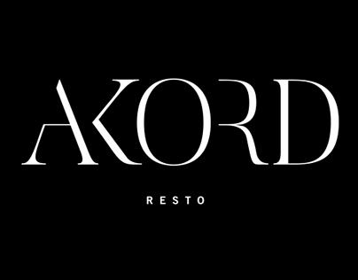 Logo for AKORD