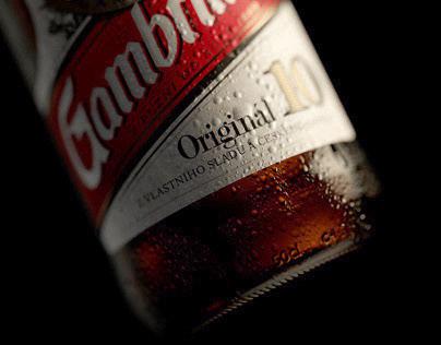 Gambrinus Bottles CGI