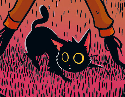 Emy e o Último Gato do Mundo - HQ