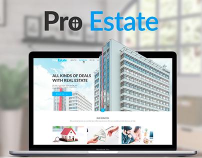 Website Design for a Realtor Agency