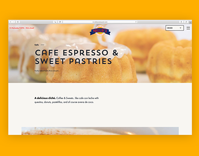 Web Redesign: Nellie's Restaurant Chicago