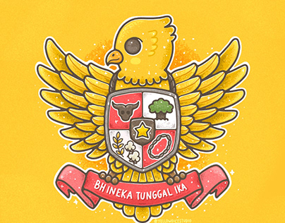 Garuda Pancasila Projects Photos Videos Logos Illustrations And Branding On Behance
