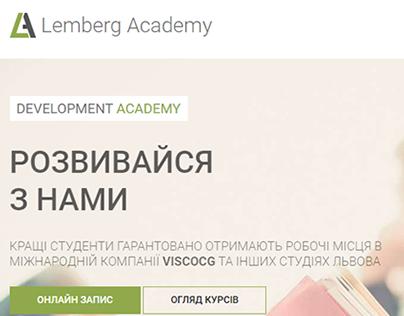 Web Site - Lemberg Academy