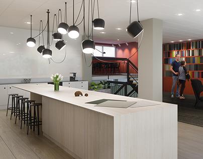 Interior visualizationof - Nordby Gulv - Showroom