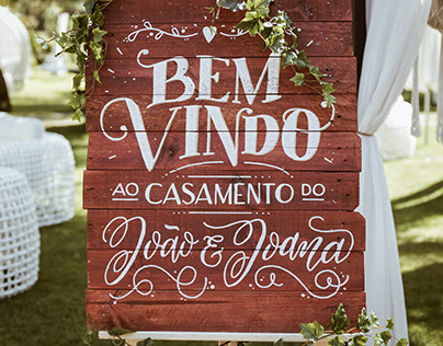 J&J Wedding (Lettering)