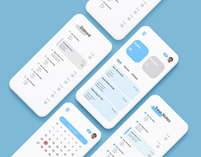 UX Design - Notes App