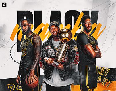Black Mamba x Los Angeles Lakers