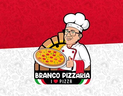 Identidade Visual | Branco Pizzaria