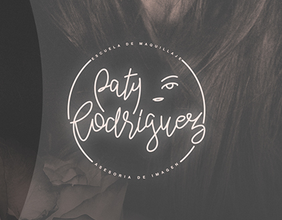 Brand Design ¨PATY RODRIGUEZ¨ Make up School